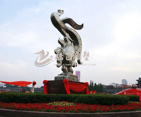 运动主题不锈钢雕塑                      动物不锈钢雕塑