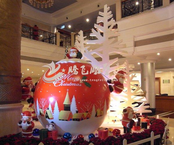 11:04来源:未知      郑州雕塑公司         商场圣诞节泡沫雕塑